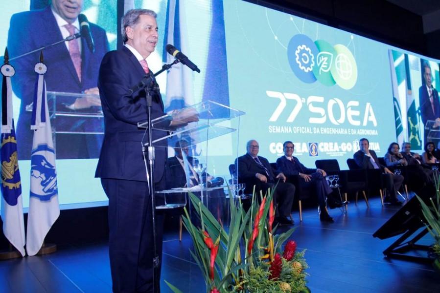 """[noticia: 77-soea-e-lancada-em-brasilia] Francisco Almeida, anfitrião da 77ª Soea, brinca: """"tenho dó de quem for fazer a próxima Semana, porque a nossa vai ser a melhor"""" - LANÇAMENTO 77 SOEA 02.jpg"""