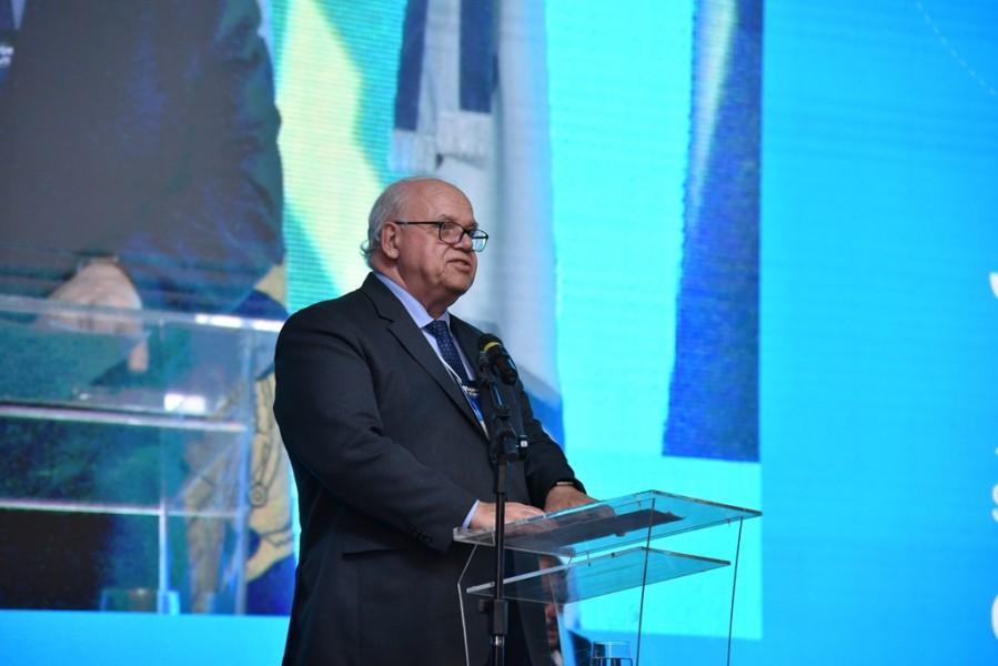 [noticia: 77-soea-e-lancada-em-brasilia] O diretor-presidente da Mútua, Eng. Civ. Paulo Roberto Guimarães, lembrou que a Soea é o maior evento do Sistema - LANÇAMENTO 77 SOEA 04.jpg