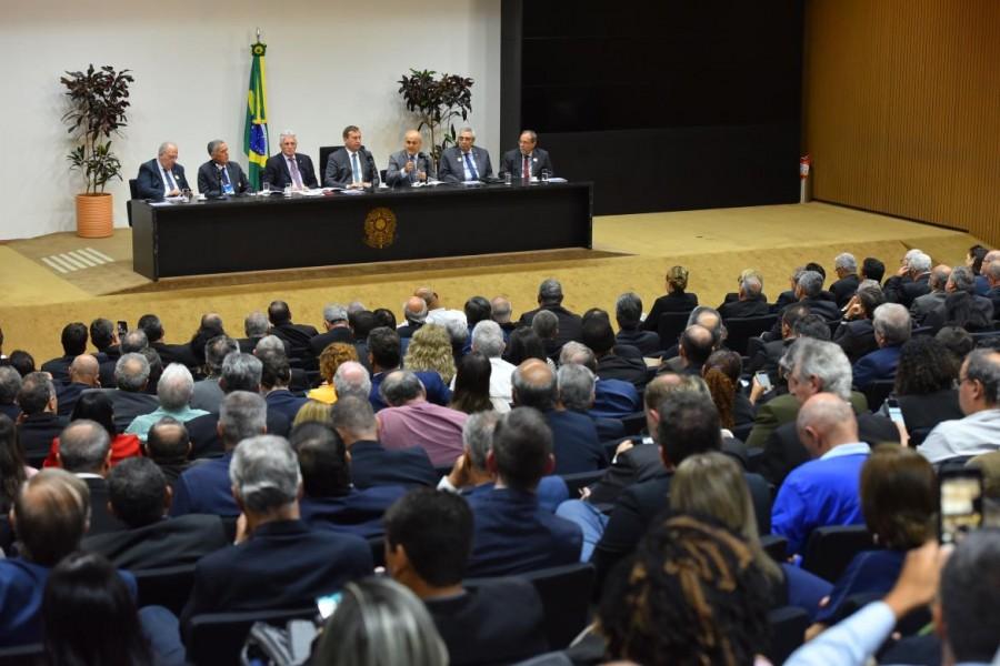 [noticia: crea-go-participa-de-acao-parlamentar-em-brasilia] Audiência reuniu mais de 350 políticos e profissionais no Auditório Nereu Ramos (Foto: André Almeida/Confea) - AÇÃO_PARLAMENTAR_04.jpg