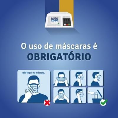 [noticia: seguranca-total-nas-eleicoes-2020] - ELEIÇOES 2020 - USO OBRIGATÓRIO DE MÁSCARA.jpg
