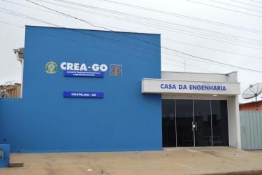 [noticia: crea-go-inaugura-nova-sede-da-casa-da-engenharia-de-cristalina] A nova sede da Casa da Engenharia de Cristalina, com 226,30 m² de área construída - INAUGURAÇÃO DA CASA DA ENGENHARIA DE CRISTALINA 01.JPG