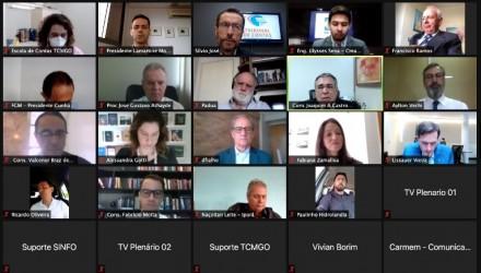 [noticia: crea-go-participa-de-videoconferencia-promovida-pelo-tcmgo] Representantes do Crea-GO participaram da videoconferência do TCMGO - Videoconferência TCMGO.jpeg