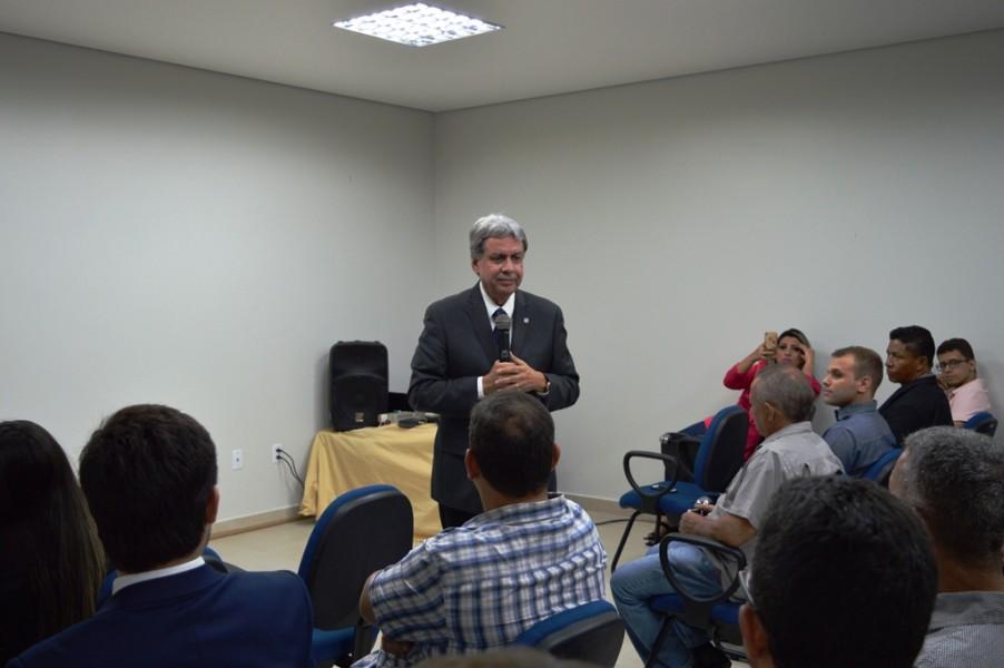 [noticia: inspetoria-de-mineiros-e-reformada-e-ampliada] Francisco Almeida aborda a importância da Casa da Engenharia e da atuação do Crea para o desenvolvimento do município - INAUGURACAO_MINEIROS_06.JPG
