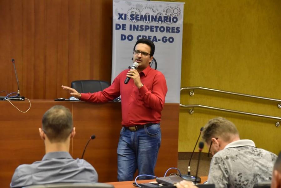 "[noticia: crea-promove-o-xi-seminario-de-inspetores] Roger Barcellos, fala sobre ""Reincidência e Dosimetria"" - SEMINÁRIO_7.jpg"